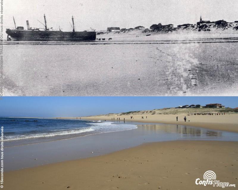 Épave du Renown : comparaisons photographiques