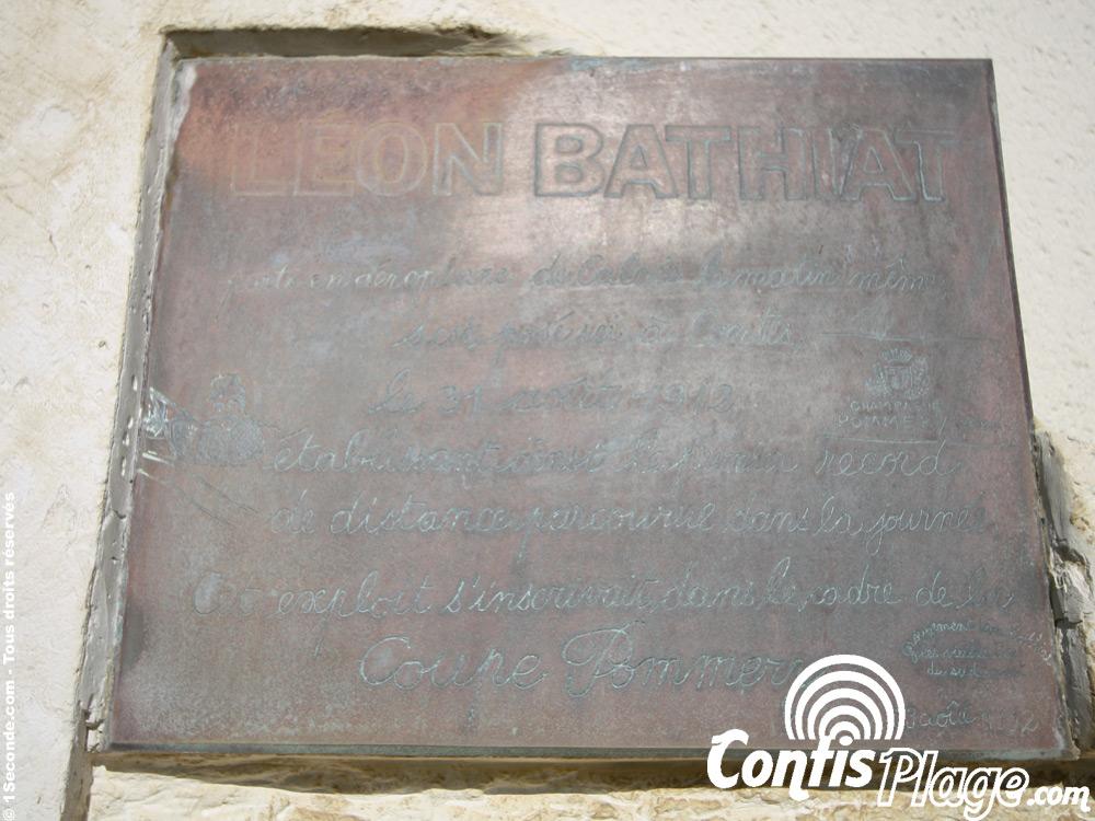 Hommage à Léon BATHIAT - Chapelle de Contis