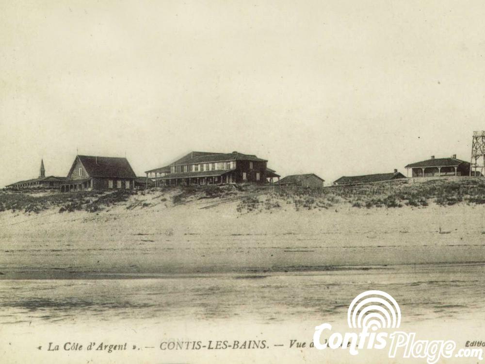 Hôtel de la Plage, sur la plage de Contis