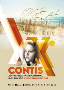Affiche du 20ème Festival du  Cinéma de Contis