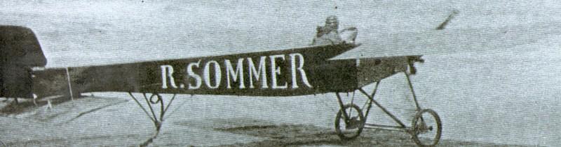 Léon Bathiat, décollage sur la plage de Contis