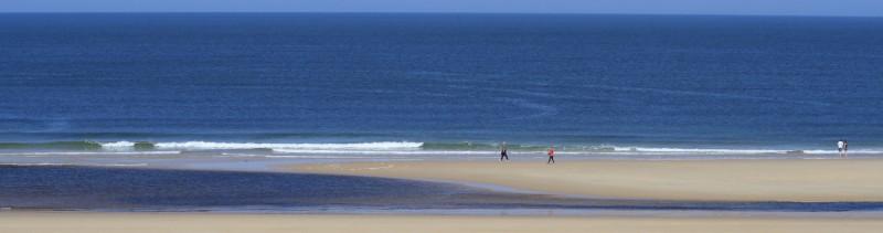 Coefficients de marée plage de à Contis