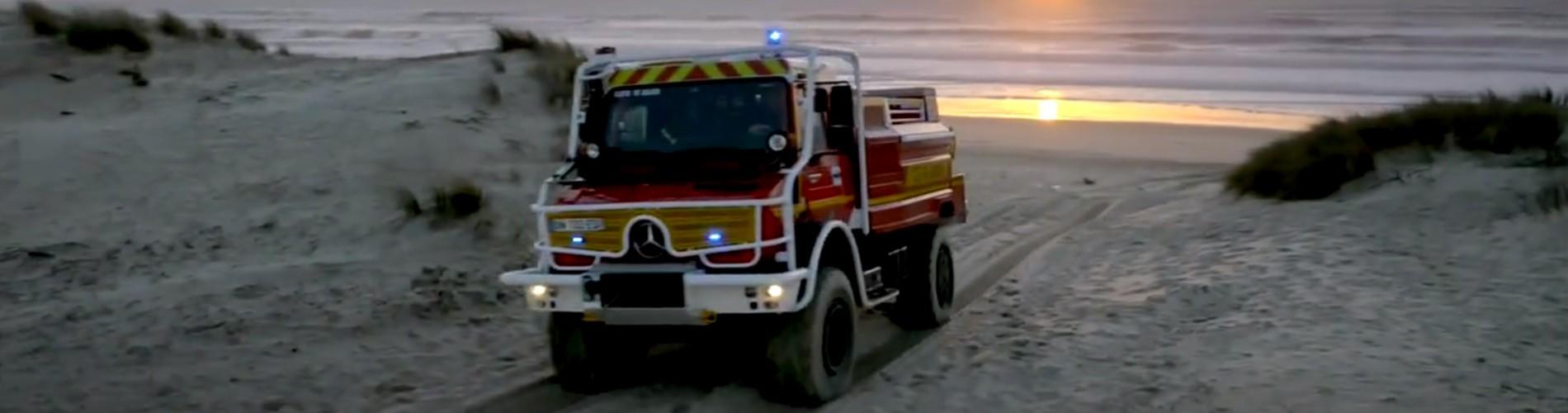 Mercedes Unimog - Contis-Plage