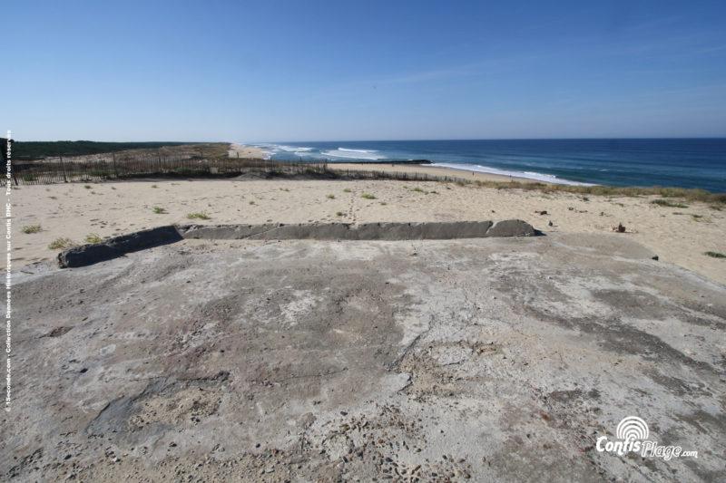Orientation de tir- bunker R612 - Position Ba02 Contis - septembre 2016