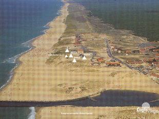 Emplacements théoriques des fortifications de Ba02
