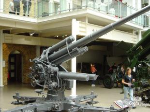 Exemple de canon Flak exposé à l'Imperial War Museum de Londres